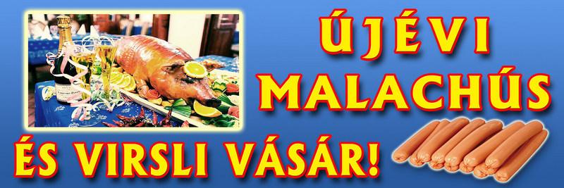 ártábla készítés molinó zöldséges húsos ártáblák molinók újévi malachús és virsli vásár